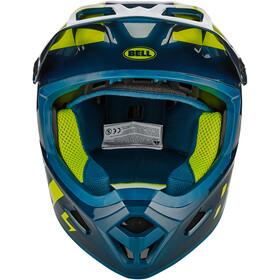 Bell Transfer Casco, blue/hi-viz